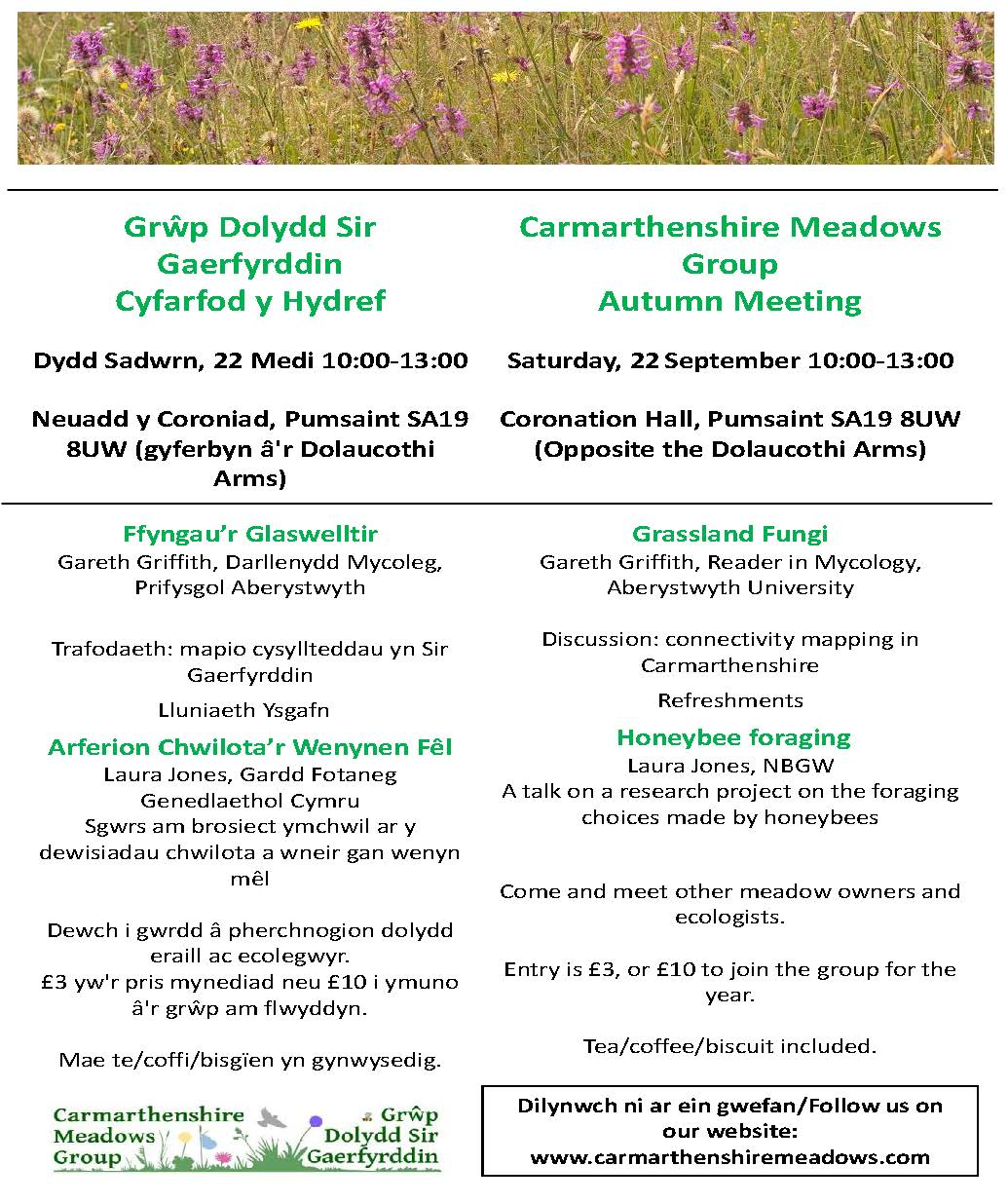 Autumn meeting poster